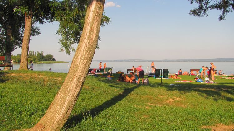Lake Balaton - Beach in Summer