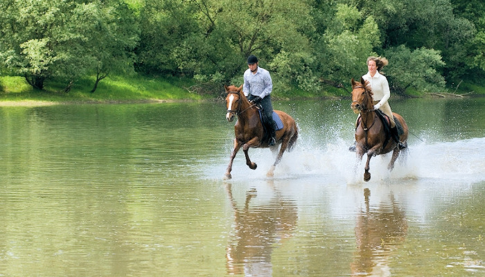 Horse-riding in western Transdanubia