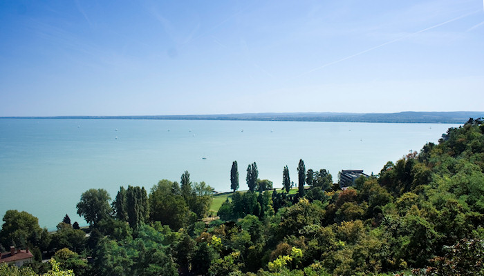 Lake Balaton at Tihany, western Hungary